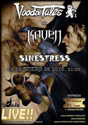 SINESTRESS – s/t, 2009.