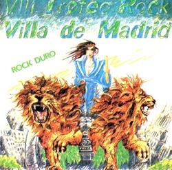 SANGRE AZUL – Maxi VIII Trofeo Rock Villa de Madrid, 1985