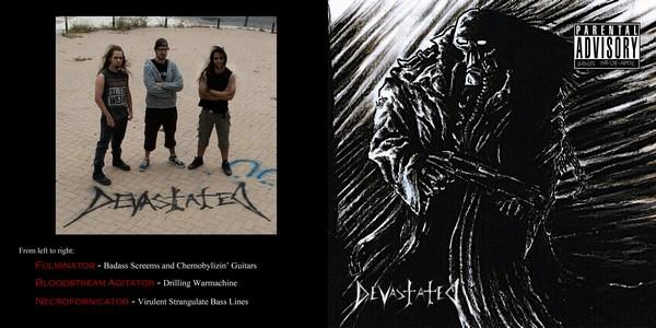 DEVASTATED – The Badass Thrash-Metal EP, 2010