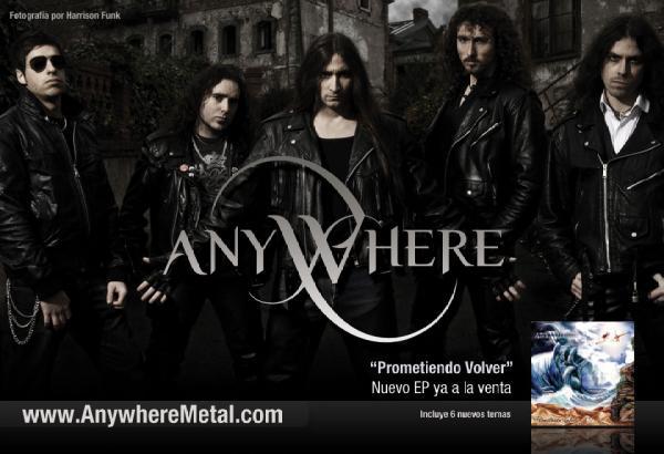 ANYWHERE – Prometiendo Volver, 2010