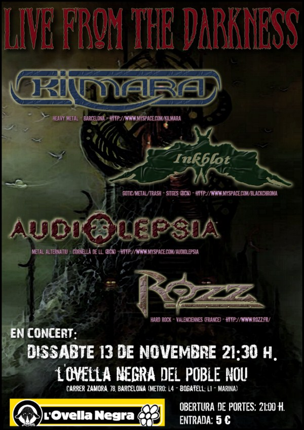 Live From The Darkness – Concierto