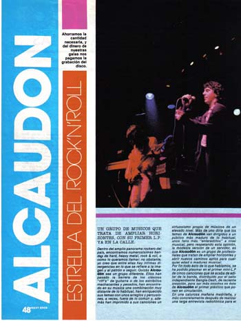 ALCAUDÓN – EP, 1986
