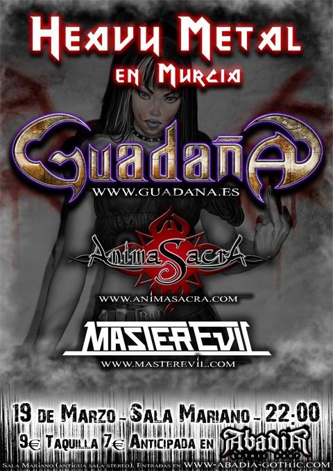 ANIMA SACRA + GUADAÑA+ MASTEREVIL