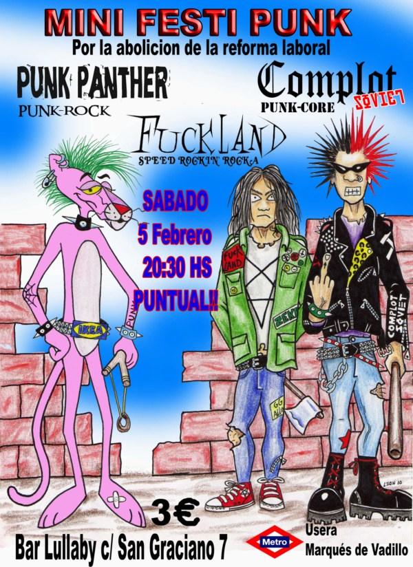 FUCKLAND – Concierto