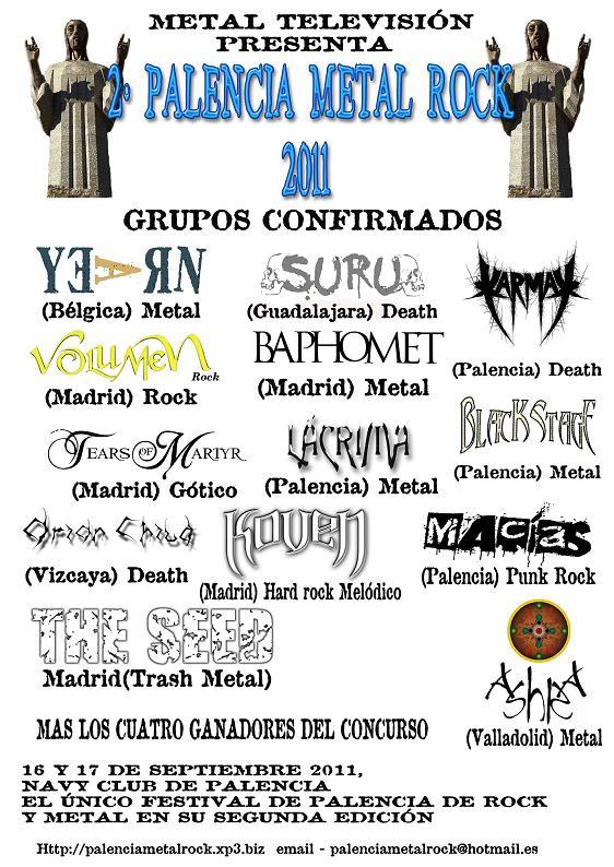 PALENCIA METAL ROCK – Festival