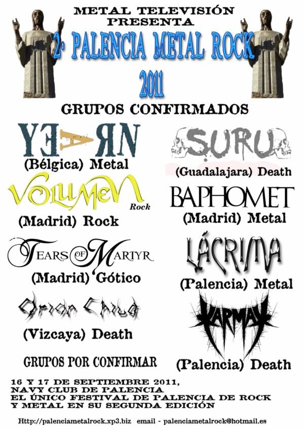 Palencia Metal Rock 2011 – Noticia