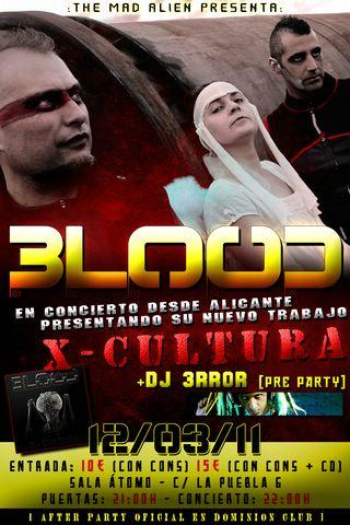 BLOOD – Concierto
