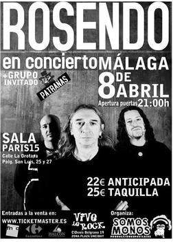 ROSENDO, en concierto
