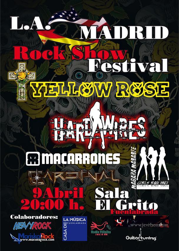 HARD-WIRES, en concierto el día 9 de abril