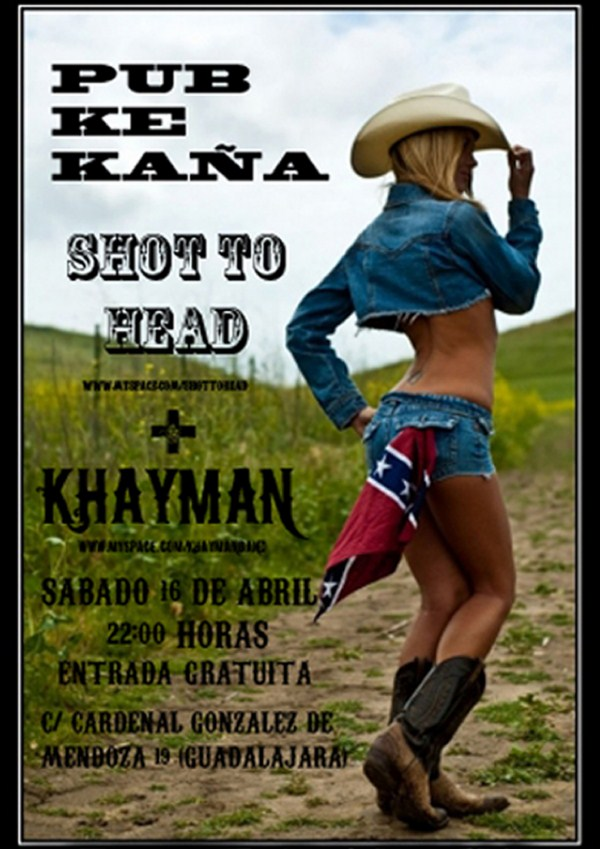 KHAYMAN + SHOT TO HEAD en Guadalajara