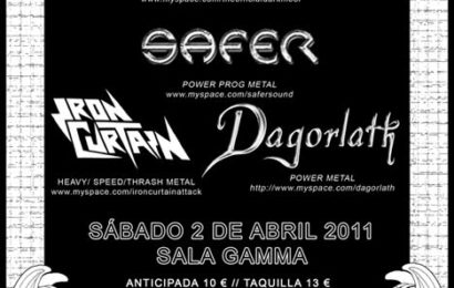 Una jodida noche de metal – Murcia – 02/04/11