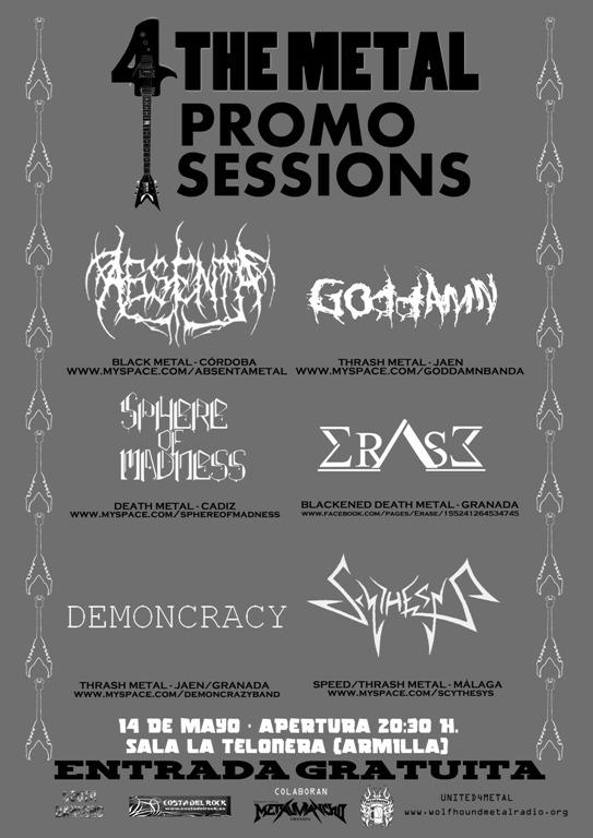 ABSENTA – Próximos conciertos