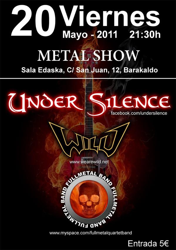 UNDER SILENCE, en concierto
