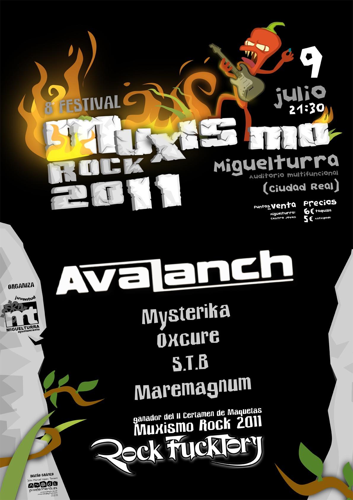 ROCK FUCKTORY ganan el Muxismo rock 2011
