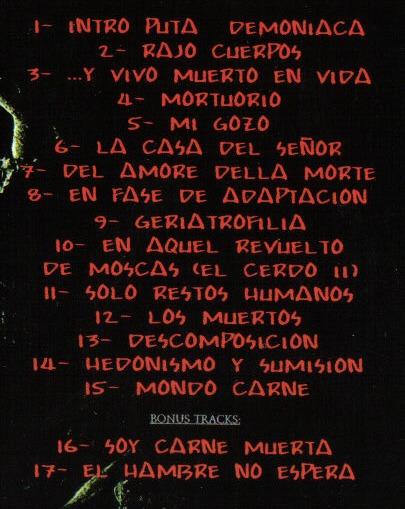 TU CARNE: «Mondo Carne», 2010