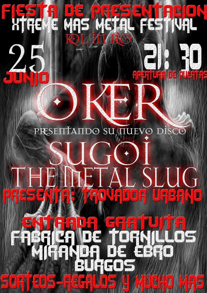 Xtreme Mas Metal Festival, Noticia