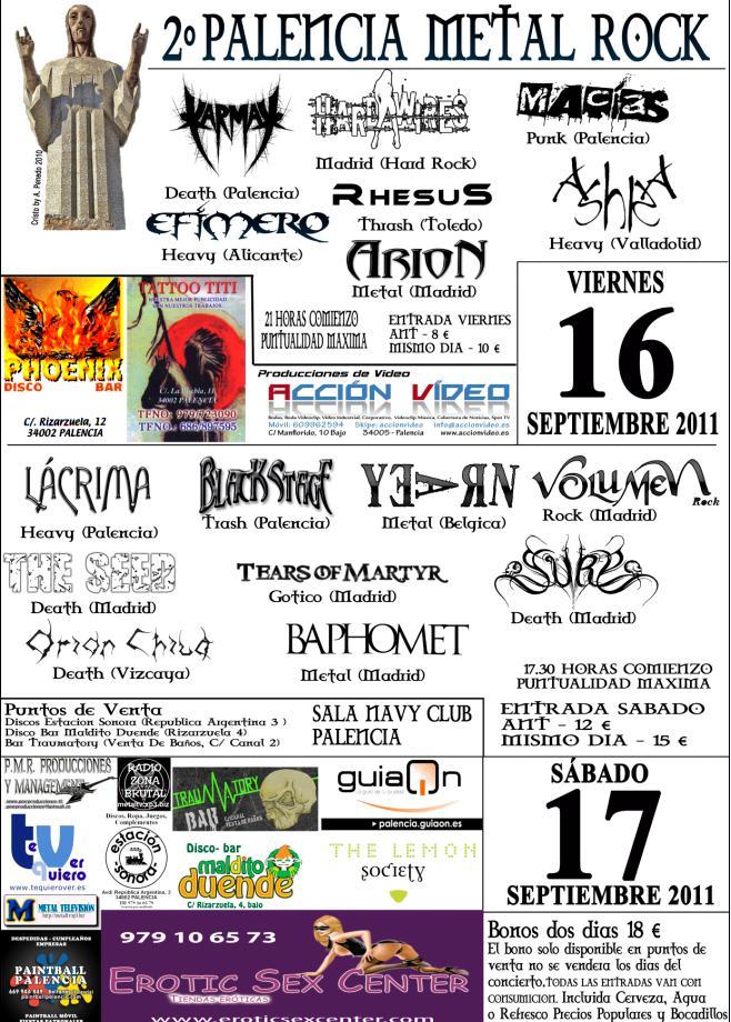 Palencia Metal Rock 2011