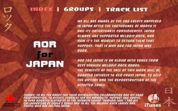 AOR FOR JAPAN – Entrevista – 28/08/11