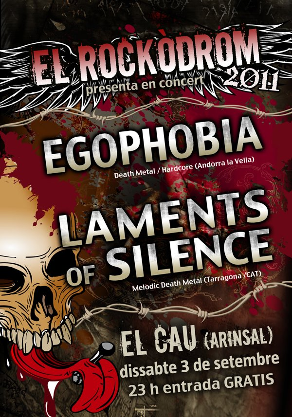 LAMENTS OF SILENCE, en concierto 3 de septiembre.