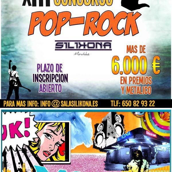XIII CONCURSO POP-ROCK de Moratalaz, 30 de septiembre