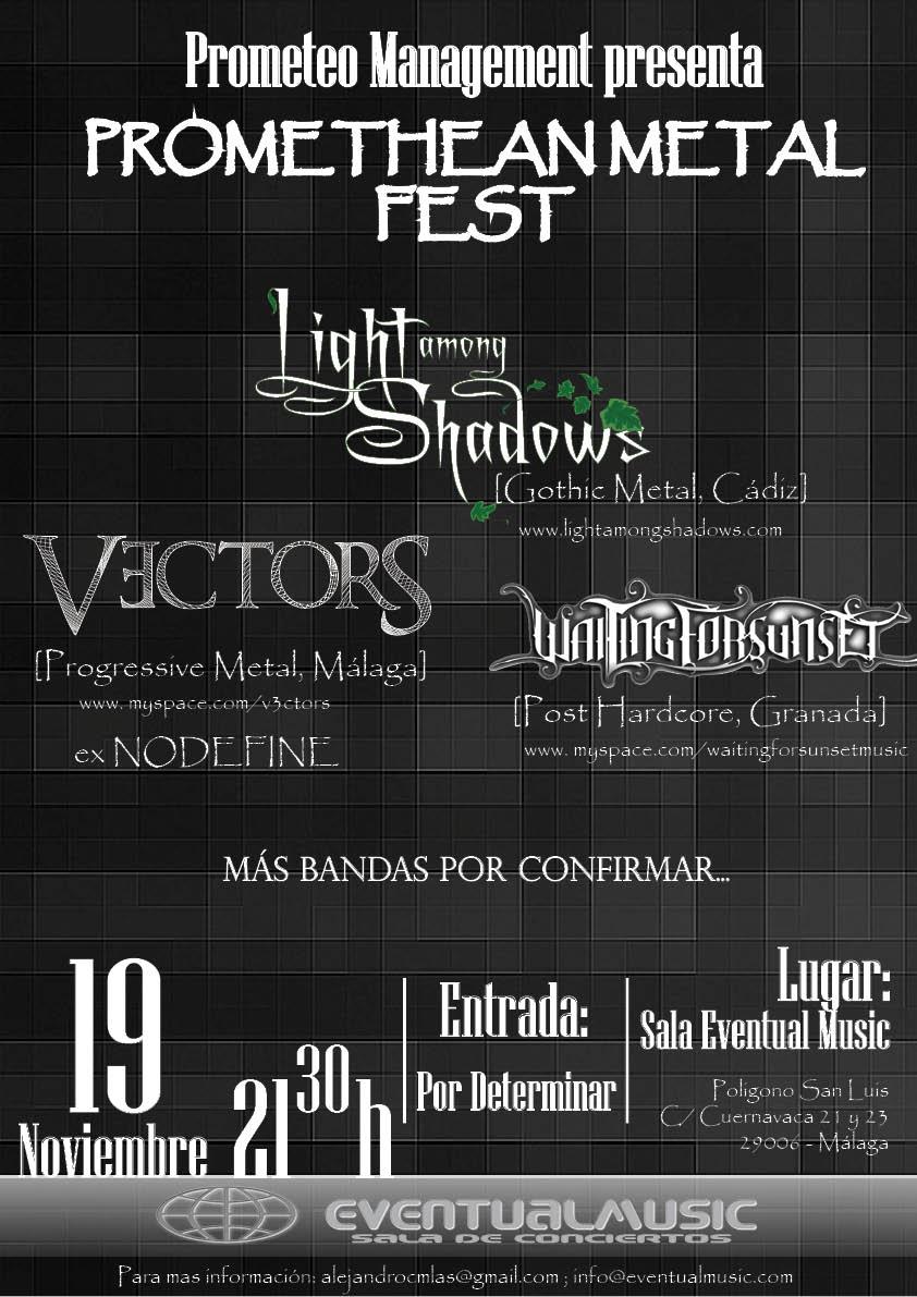 PROMETHEAN METAL FEST – 19 de noviembre