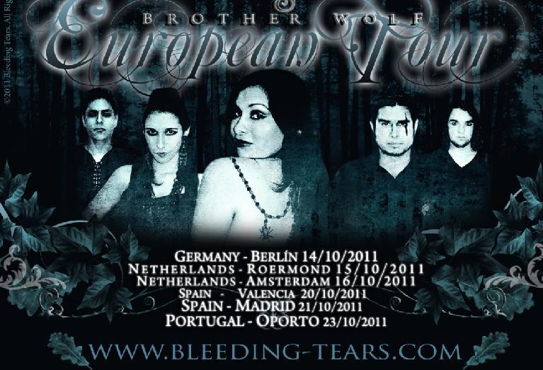Tour europeo de BLEEDING TEARS