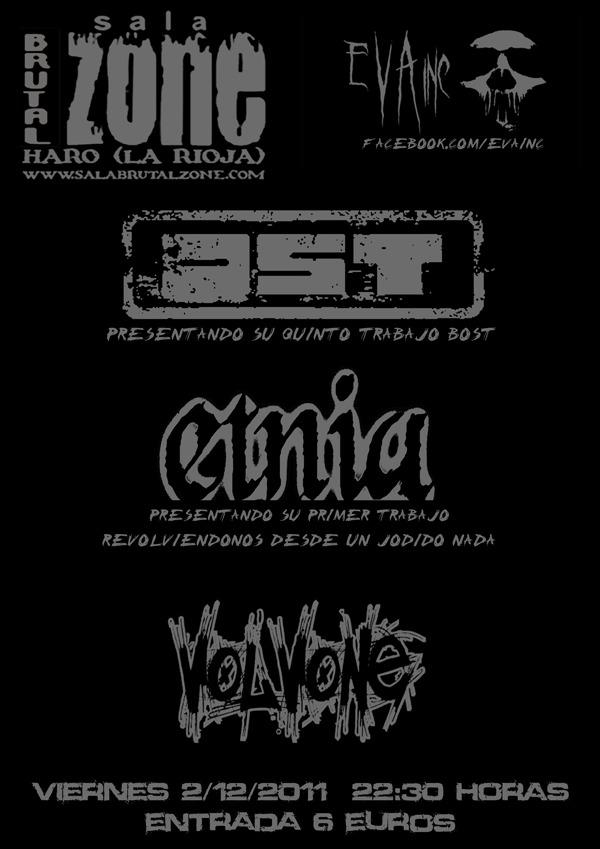OST+ ETNIA+ VOLVONE, en concierto 2 de diciembre.