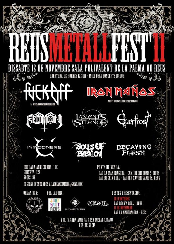 REUS METAL FEST II, 12 de noviembre