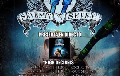 '77 + ROCK FUCKTORY – Valencia – 11/11/11