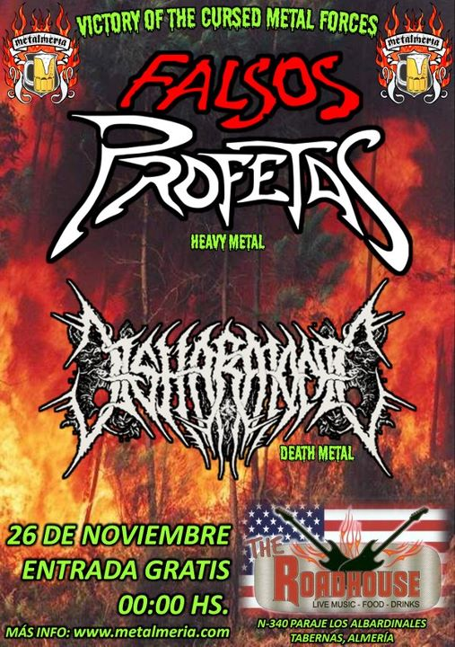 FALSOS PROFETAS + DISHARMONIC – Tabernas (Almería) – 26/11/11