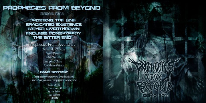 Demo 2011 de la banda PROPHECIES FROM BEYOND