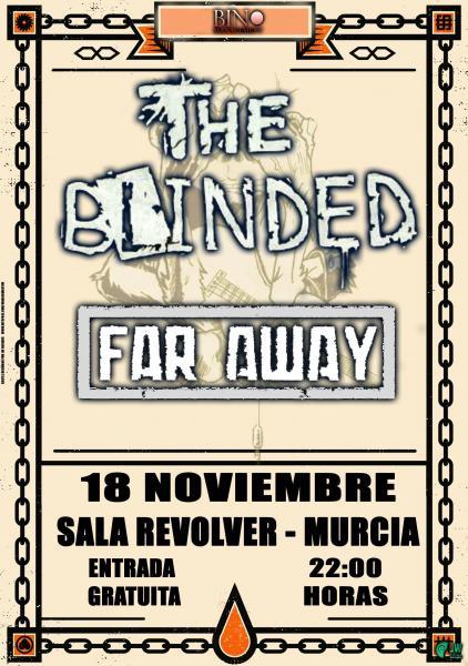 THE BLINDED – fechas de conciertos