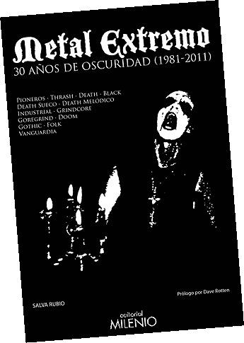 Presentación libro de Metal Extremo – Hoy en Madrid