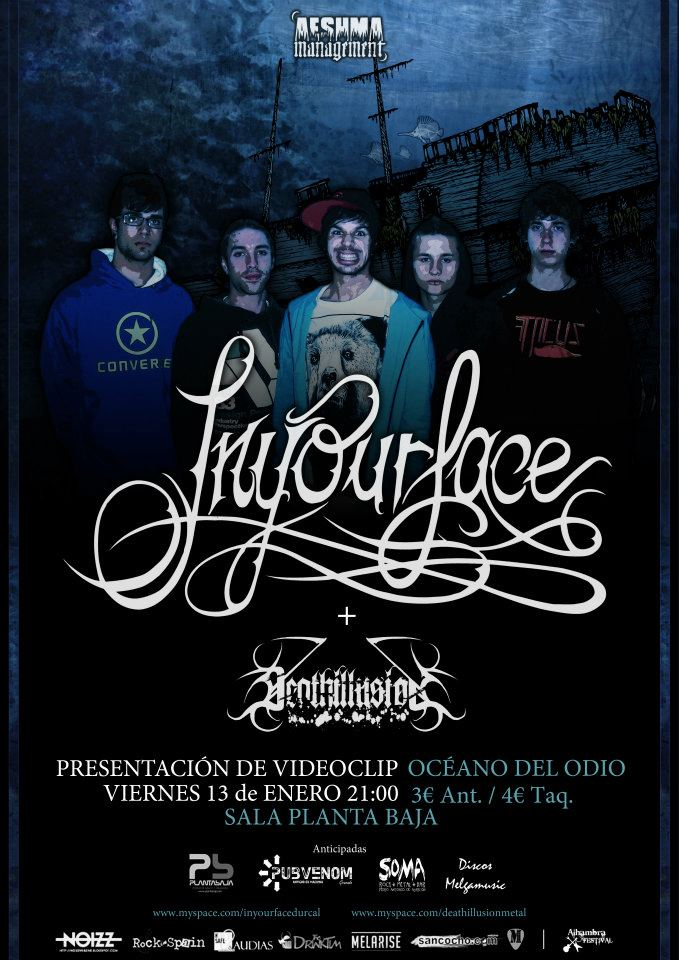 IN YOUR FACE+DEATHILLUSION, en concierto.