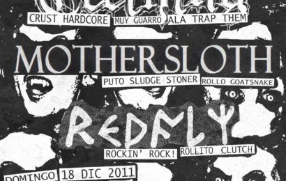 TEETHING + MOTHERSLOTH + REDFLY en concierto