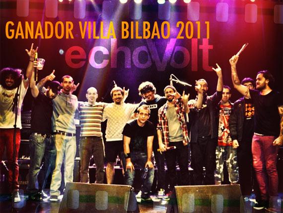 ECHOVOLT ganan el concurso Villa de Bilbao 2011.
