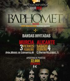 BAPHOMET + MADAME BABILONIA + PAPA SERPIENTE – Murcia – 03/02/12