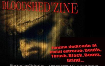 BLOODSHED ZINE vuelve en marzo.