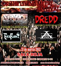 THE NIGHT OF THE LIVING METAL FEST, 31 de marzo.