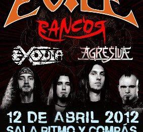 EVILE en Madrid por cortesia de METAL NIGHTS.