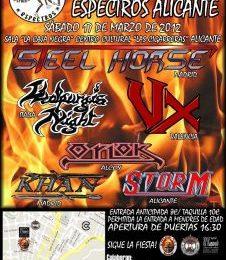 STEEL HORSE y su gira nacional 2012.