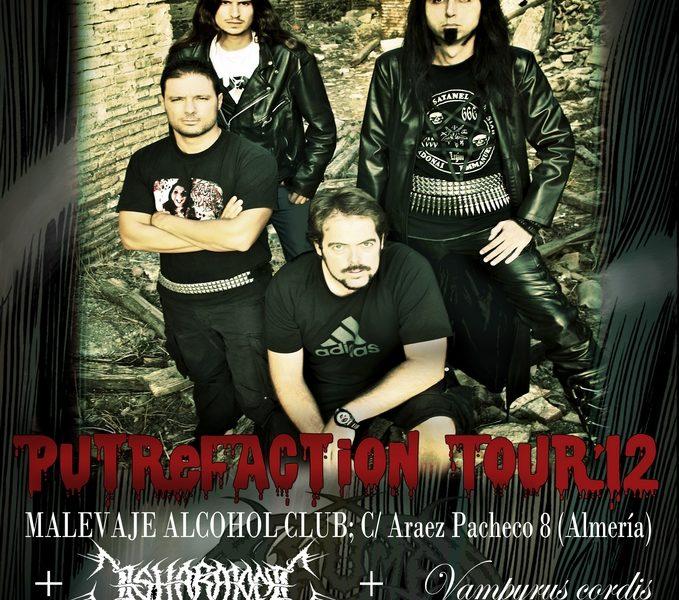 EXHUMED DAY siguen sumando fechas a su PUTREFACTION TOUR.