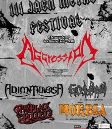 III Festival Jaén Metal, 31 de marzo