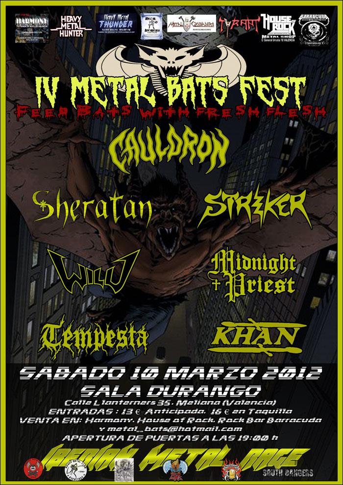 METAL BATS cierra el cartel de su festival anual.