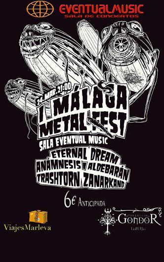 Málaga MetalFest – 24 de marzo