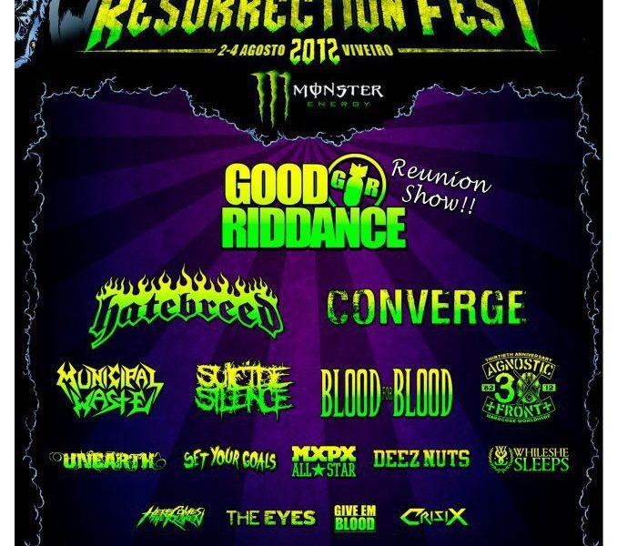 RESURRECTION FESTIVAL 2012 – Primeras confirmaciones