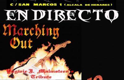 AL ROJO VIVO + MARCHING OUT, en concierto