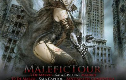 AVALANCH Fechas del Malefic Tour 2012