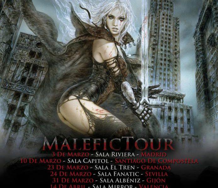 AVALANCH – El Malefic Tour comienza por todo lo alto