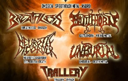 Battle Camp Metal Fest II, 11 de agosto